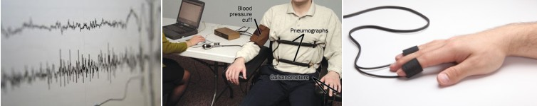 Person undergoing Lie Detector Testing